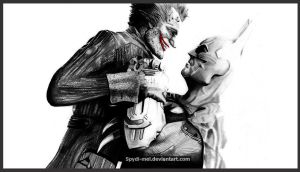 Batman vs Joker 2.0 by Spydi-mel