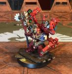 Techmarine Curies, Eagle Dragoons Chapter by NyQuilDreamer