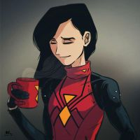 Mugshot Monday: Spider-Woman by AndrewKwan