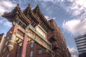 Chinese Arch Manchester by johnwaymont