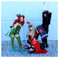 Gotham Sirens SteamPunk Version by Samantta