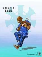 SPIDER STORIES: The Drummer Ayan by CentralCityTower