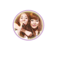Dara and Park Bom 2NE1 Circle by AffxtionComunity