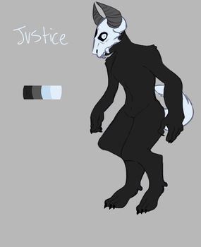 Justice the good boi by SmasherlovesBunny500