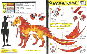 Raggine 'Knave' Reference (OLD) by AriiKnave