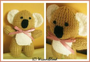 Knitted Koala by WicansBlood