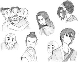 Character Expressions by wannabe-animator