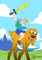 Adventure Time by MikeOrion