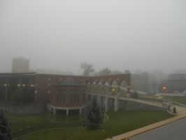 Foggy Campus 1 by unusedusername111