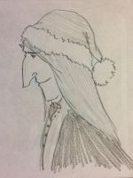 Snape Doodle 337 by dragoon811