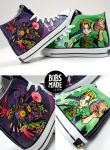 Manjoras MASK 3D Shoes by Bobsmade