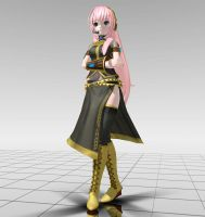 Project Diva Arcade Luka MMD download by Reon046