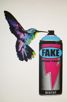 The FAKE CANBIRD by fakestencils