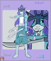 no.245- Suicune by YoukaiTsuki-hime