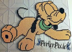 Baby Pluto by PerlerPixie