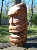 Tiki Wood Carving by todd587