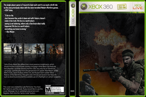 Black Ops xbox360 cover by SyntheticsArt