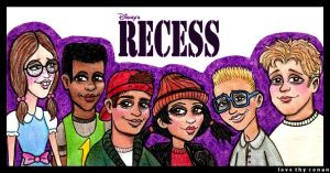Disney's Recess by LoveTHYconan