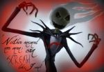 Evil Jack Skellington by bobisalive