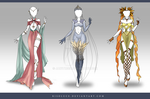 (CLOSED) Adoptable Outfit Auction 99-101 by Risoluce