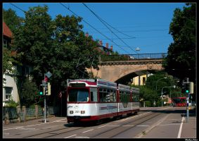 Freiburg Underpass by TramwayPhotography
