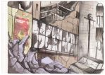 Post  Apocalyptic -  watercolor 3 by Yuuki-Tachi