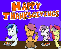 Happy Thanksgivings! by ArkyPony