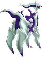 Arceus Ghost Type by Xous54
