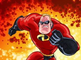 Mr. Incredible by dichiara