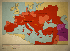 A Hunnic Empire - The Third Rome by Thasiloron