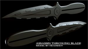 Assassin Throwing Blade by HeadshotZX