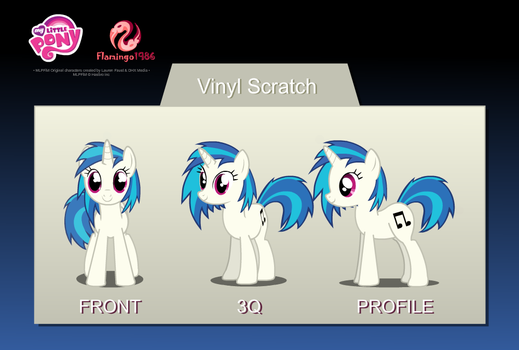 DR Vinyl Scratch Puppet Rigs v1.0 by RalekArts