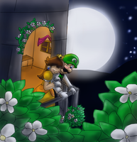 Luigi and Daisy by Foxeaf
