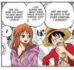 Luffy and Nami - 204 by mirimmd