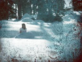A Storie in the Snow by demons-I-weave