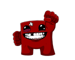 Super Meat Boy by equilibrik