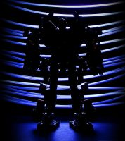 Optimus Prime Light Painting 1 by FordGT