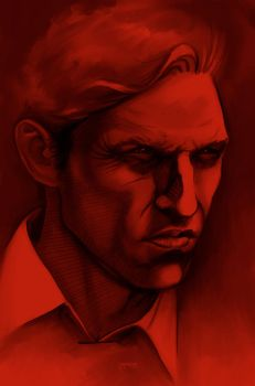 Detective Rust Cohle by Zherj