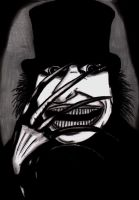 Mr Babadook by charcoalman