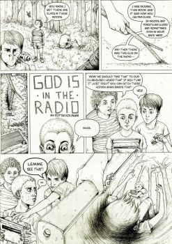 God is in the Radio by himynameisfo