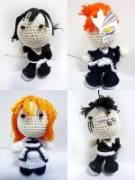 Bleach Amigurumi Dolls by Nissie