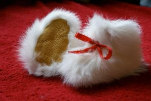 Handmade fur booties FOR  SALE by ChaseLee-LIA