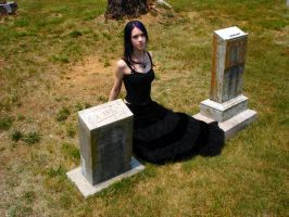 The Cemetery 2 by Cait-Shoxxi