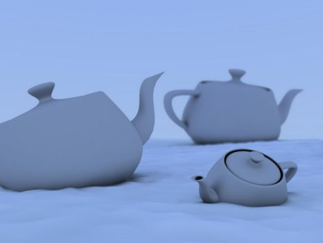 History of a teapot_Snow scene by jorgehpz