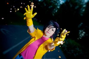 Marvel: My name's Jubilee. I blow stuff up! by Ocean-san