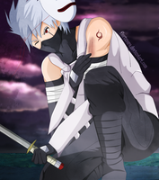 Contest entry - Kakashi ANBU by florixnero