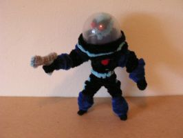 Mr. Freeze by fuzzyfigureguy