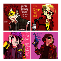 Killjoy Valentines by JuneRevolver