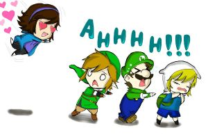 Fangirling :3 by acua-chan