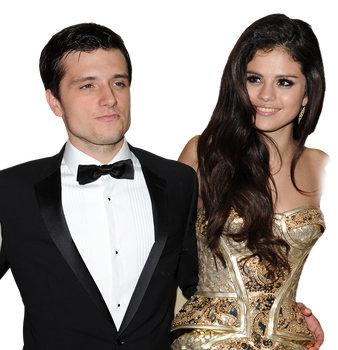 Selena Gomez and Josh Hutcherson - PNG/Render by tommz2011